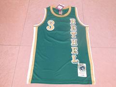 艾弗森高中绿色新面料球衣