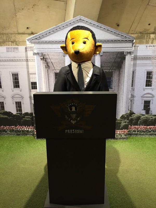 奥巴马版泰迪熊