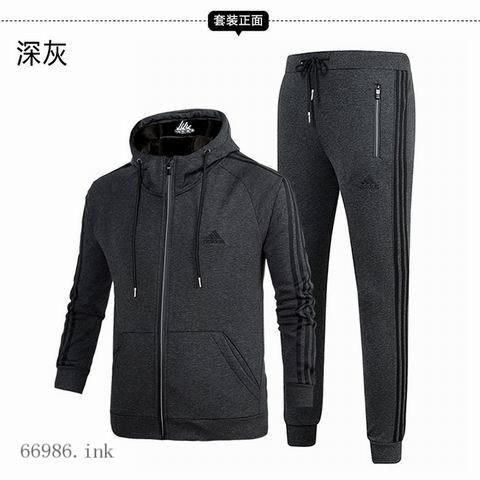 115#17128阿迪加绒开衫套装( 竹节水貂绒430克)黑 深灰 蓝L-6XL (3).jpg