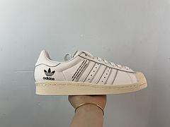 日本东京原宿店开业推出限定 Adidas Originals by NBHD SUPERSTAR 80S 三方联名 F34156  尺码:36 36.5 37 38 38.5 39 40 40.5