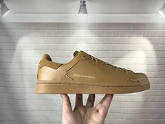 潮流板鞋Y3S棕色板鞋 2018走秀款Super Knot 贝壳头 ,2003 年山本耀司加入 adidas 家族,为庆祝 15 周年的合作关系,
