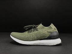 草绿 UB真爆袜子鞋 Adidas Ultra Boost 真标真爆巴斯夫爆米花 阿迪达斯UB袜子鞋运动跑步 BB390号码36-45有 公司货