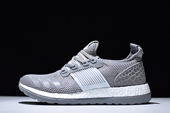 影子传说真爆灰白色 原boost 大颗粒Adidas AD Pure Boost ZG BB3912阿迪达斯爆米花三代 影子传说彭于晏同款真爆40-44.5带半码