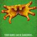 细菌危险 注意洗手