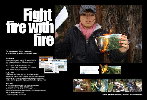 预防森林火灾公益广告