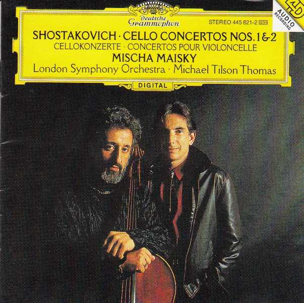 肖斯塔科维奇Shostakovich第一 二大提琴协奏曲