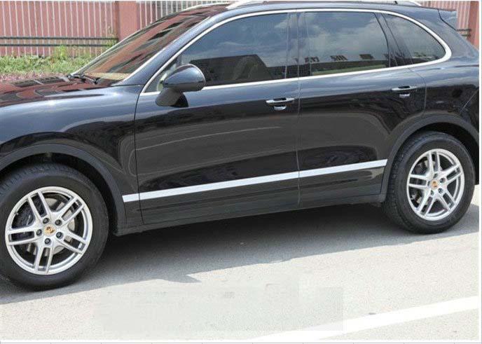 Stainless Steel Body Door Side Molding Trims For Porsche Cayenne 2011 2012 2013 Ebay