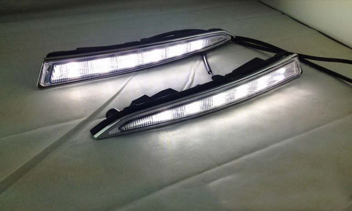 ford escape kuga running light led daytime drl replace