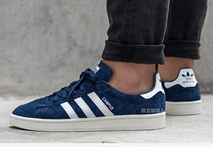 Adidas Campus/阿迪达斯校园板鞋深蓝白36--44