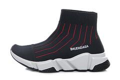 Balenciaga 169 children's shoes face black red 25-35
