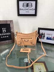 Balenciaga Paris family original goatskin small bag 24.5-15-6