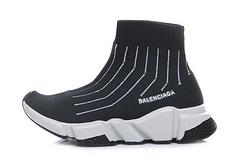 Balenciaga 169 children's shoes black and white 25-35