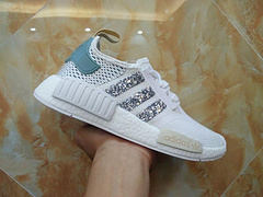 Adidas Originals White and Green Sequins Style No. BY3033 Code 36-45