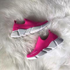 Balenciaga Paris Family Low Helper Shoes Pink 25-35