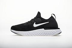 黑白勾 Nike Epic React Flyknit AQ0067-001
