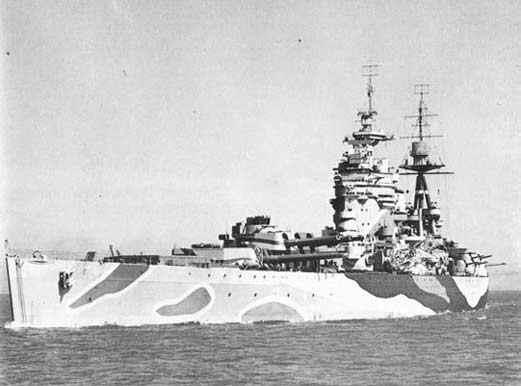 二战时期的海上霸主 战列舰