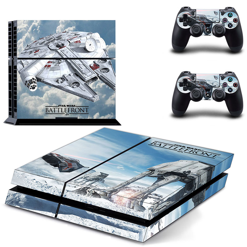 star wars battlefront cover skin sticker for ps4. Black Bedroom Furniture Sets. Home Design Ideas