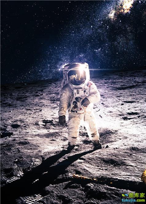 月亮 月球 MOON 月夜 夜晚 晚上 圆月 满月 月球车 登月 宇航员 JPG547