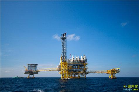 钻井平台 海洋采油 石油钻井 海洋钻井 采油钻井 石油勘探 石油开采 JPG552