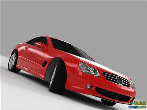 红色汽车 红色跑车 红色超跑 法拉利 名车 豪车 红色赛车 F1 JPG851