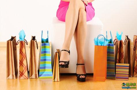 购物 shopping 逛街 大采购 女性购物 消费 购物袋 买东西 促销 JPG978