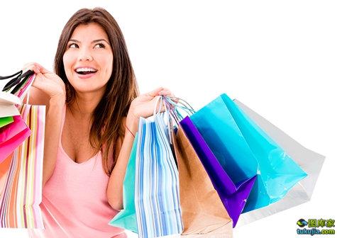 购物 shopping 逛街 大采购 女性购物 消费 购物袋 买东西 促销 JPG980