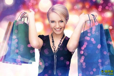 购物 shopping 逛街 大采购 女性购物 消费 购物袋 买东西 促销 JPG979