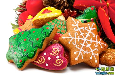 饼干 糕点 点心 曲奇 蛋糕 姜饼 圣诞点心 圣诞美食 西点 JPG1000