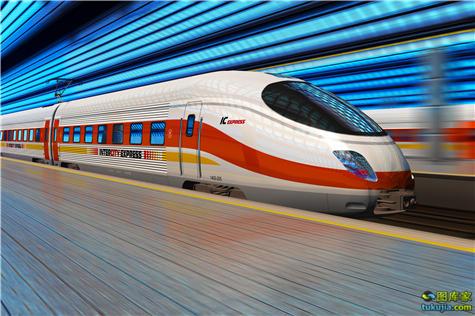 火车 电车 轻轨 高速列车 动车 磁悬浮列车 高铁 地铁 火车头 现代火车 新干线 火车图片 JPG1107