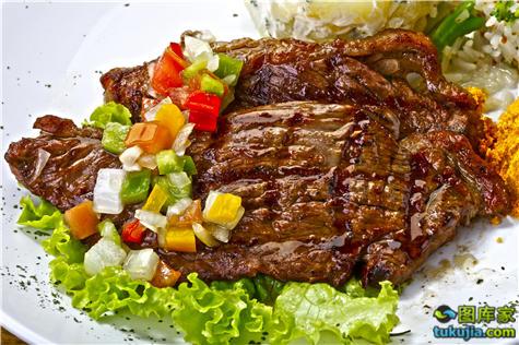 烧烤 BBQ 烤肉 牛排 牛扒 烤牛排 西餐牛排 肋排 牛肉 JPG1135