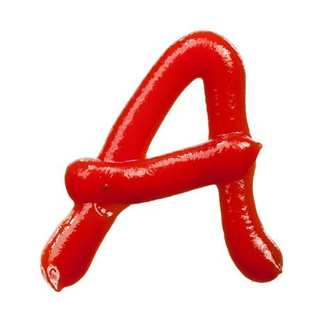 果酱字体 番茄酱字体 字体设计 英文字体 英文字母 数字字体 字母设计 JPG1146