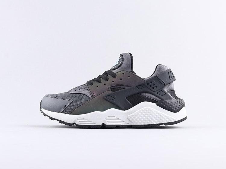 Nike air huarache 华莱士一代变色龙 704830-007跑步鞋