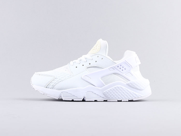 Nike air huarache 华莱士一代全白大网 318429-111 跑步鞋