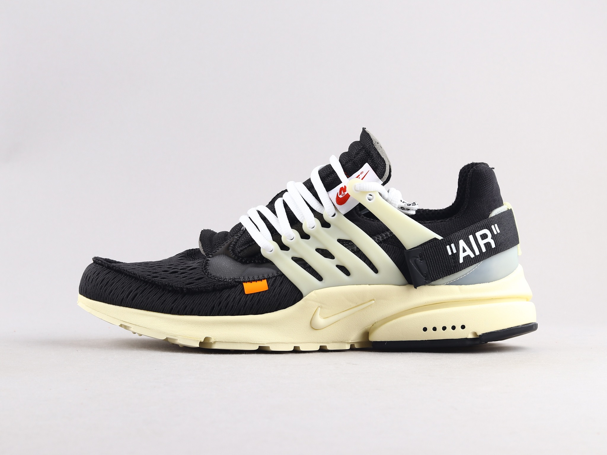 NIKE x OFF-WHITE AIR PRESTO THE TEN 解构 袜子跑鞋 AA3830-001