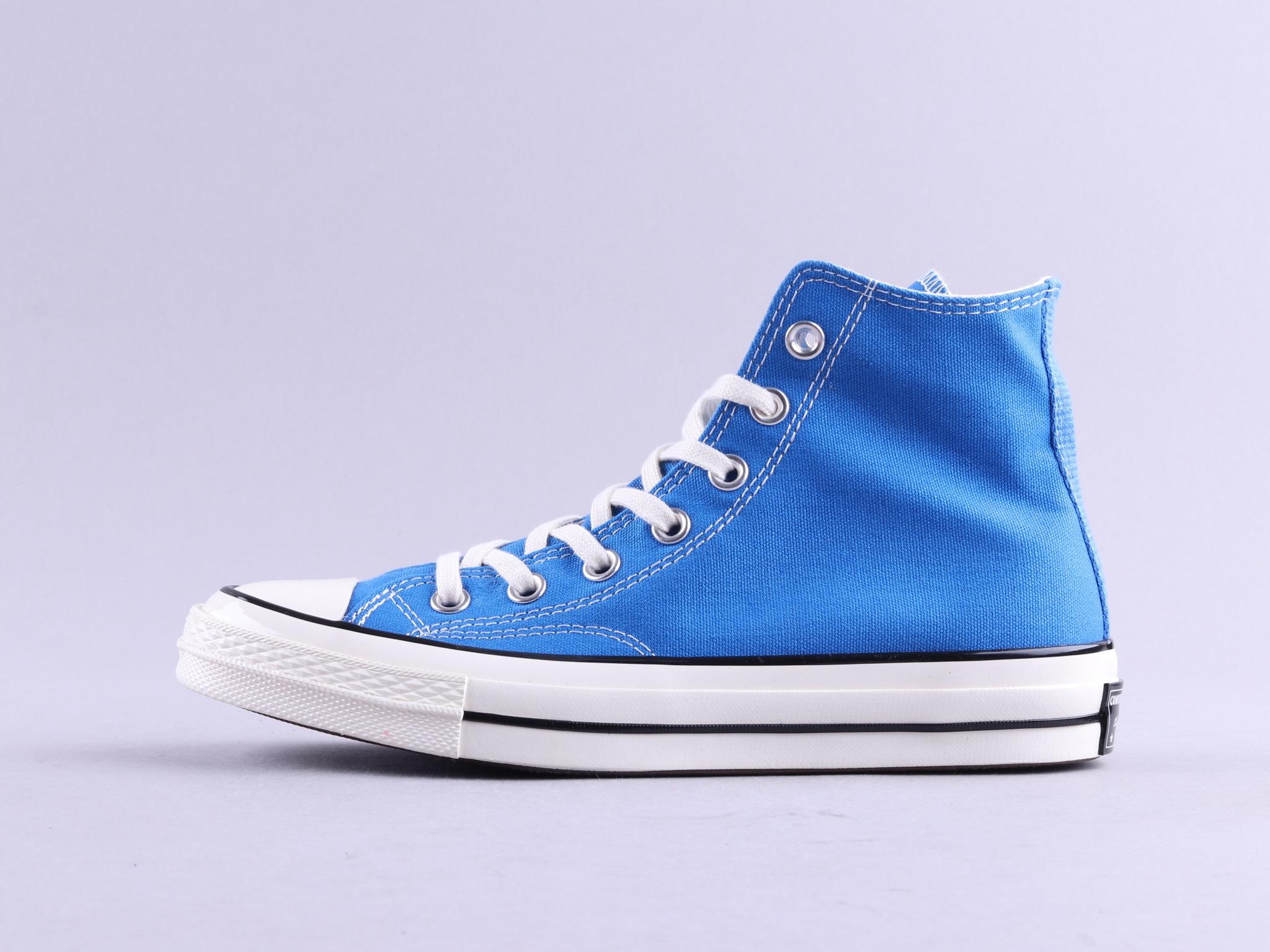 18新款 Converse All Star 70s 三星标 蓝色高帮