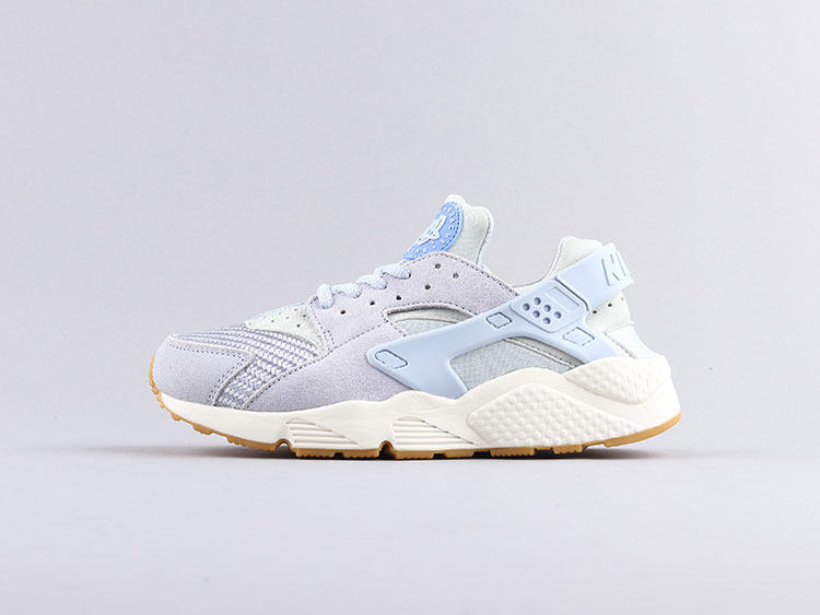 Nike air huarache 华莱士一代 淡蓝 818597-400 跑步鞋