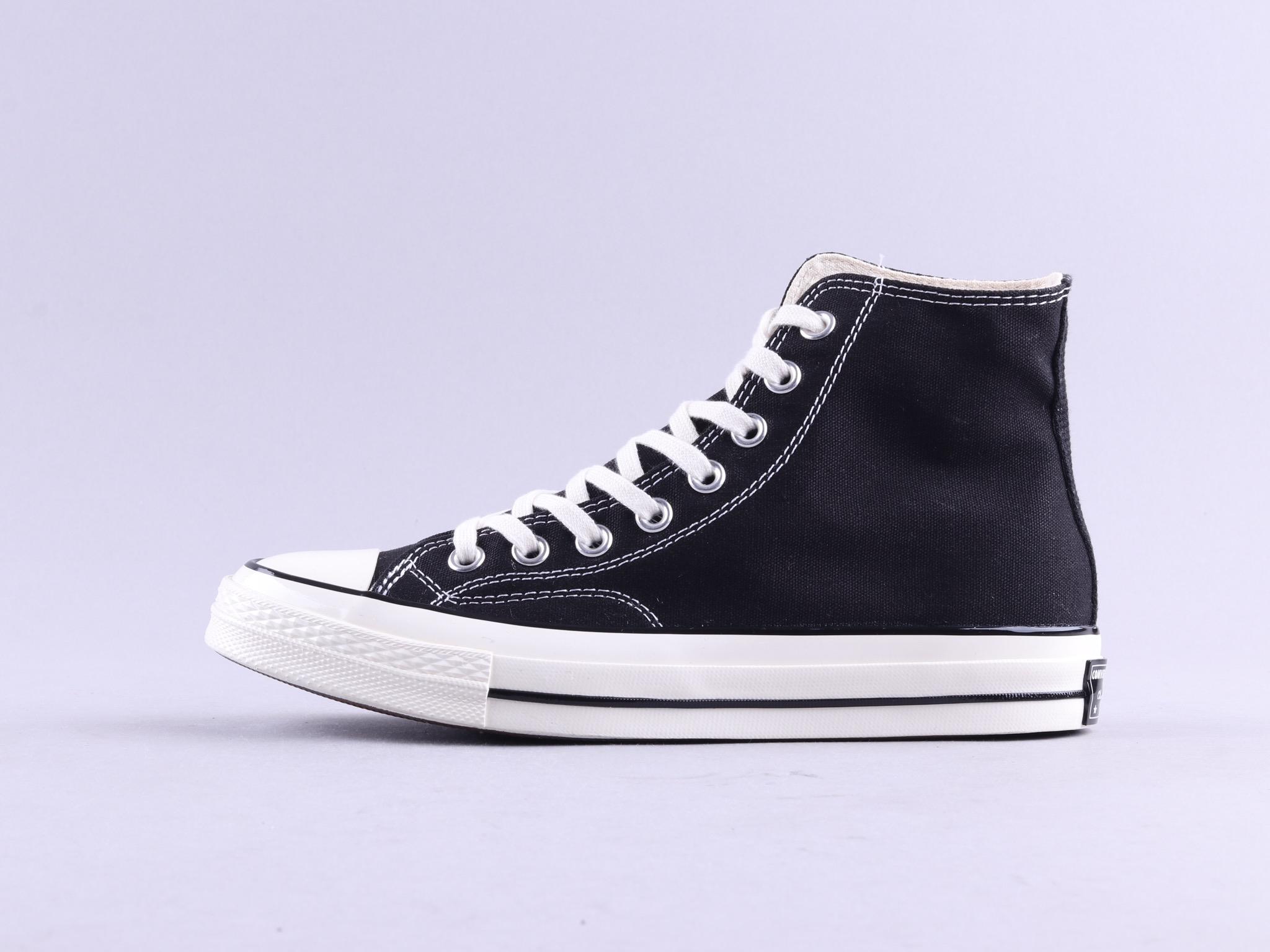 18新款 Converse All Star 70s 三星标黑色高帮