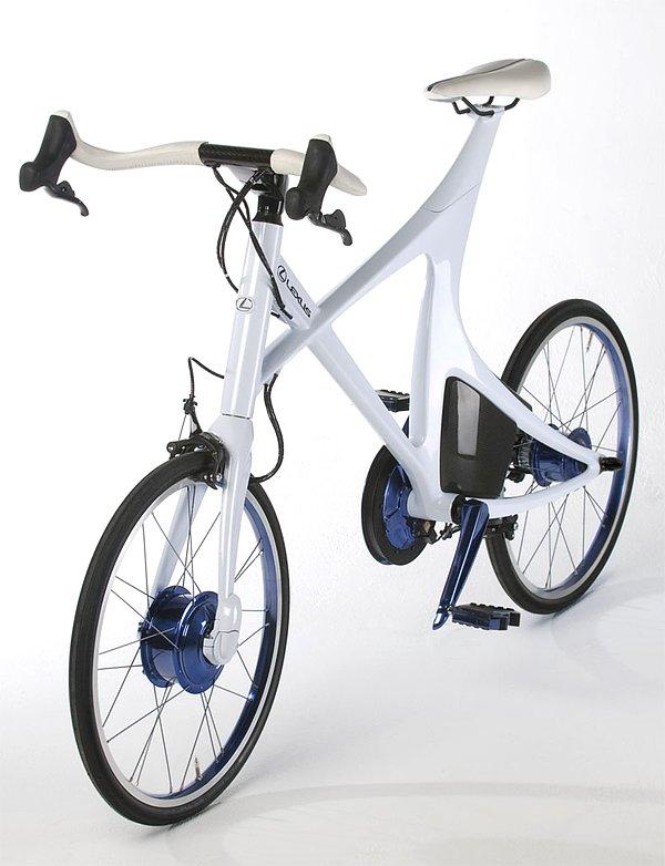 lexus混合动力自行车 高清图片