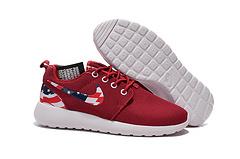 奥运伦敦奥利奥 Nike Roshe run USA 美国国旗 网面跑鞋36-45 红色