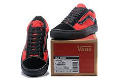 BILLY'S x Vans Style 36 红黑联名鞋款 35-44