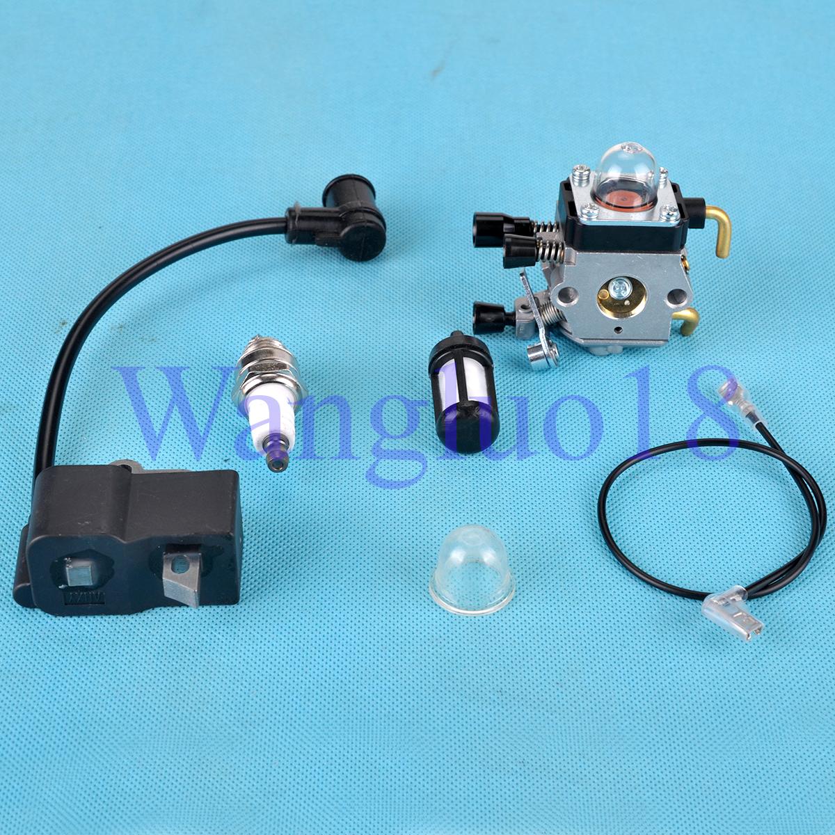 Honda S66 >> Carburettor Ignition coil Fit STIHL FS75 FS80 FS85 FC85 HT70 HS75 HL75 HT75 HS80 | eBay