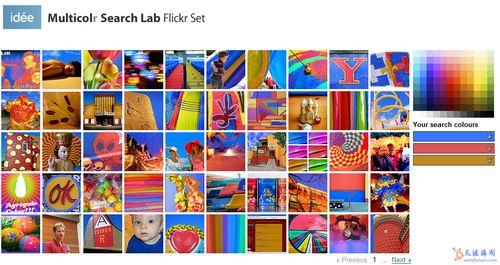b8gqems8 八款通过颜色搜索图片的搜索服务