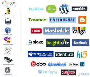custom WebApp网站列表:微博客同步服务网站