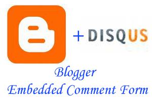 medium 用Disqus实现Blogger页内评论