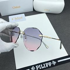 1980Chole 克洛伊】克洛伊爆款出货   钻石切边太阳镜  官网同步  明星范  一款美爆了的墨镜
