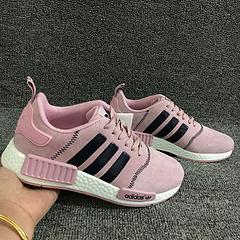 阿迪达斯NMD全猪八粉色女鞋36-39出货,原盒原标,支持扫描