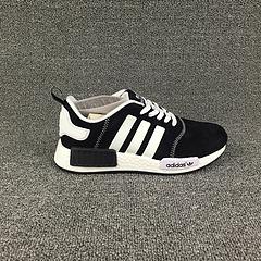 阿迪达斯NMD黑白男女鞋36-44出货,原盒原标,支持扫描,欢迎主推