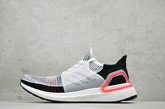 adidas Ultra Boost 5.0 「White/Red」公司级 正确颗粒 激光红 2019 黑彩虹 B37703 尺码:36-45