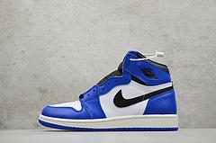小闪电 纯原 Air Jordan 1 BG AJ1 Game Royal GS 白蓝575441 403 女鞋 尺码: 36 36.5 37.5 38 38.5 39