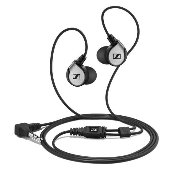 亚马逊海淘:森海塞尔CX6 hifi级入耳式耳塞  入烧推荐